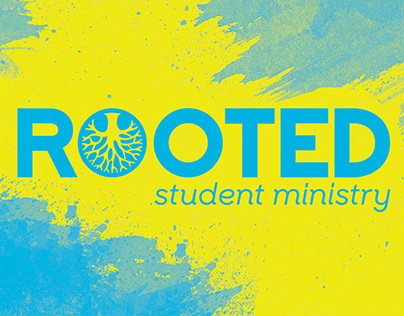 Rooted Student Ministry | Church Logo & Design