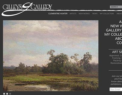 Gilley's Gallery website