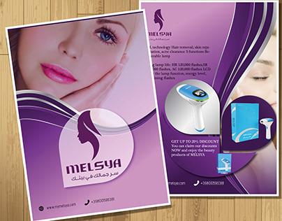 Melsya brouchre design