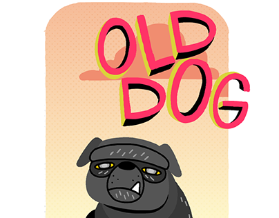"""Early concept art for """"Old Dog"""""""