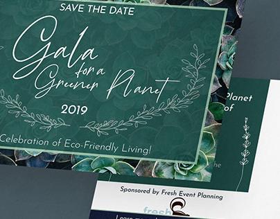 Gala Save the Date Postcard