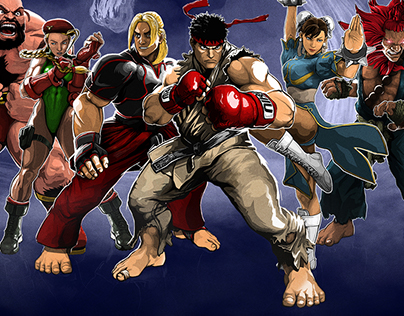 STREET FIGHTER 30TH ANNIVERSARY X REDBULL