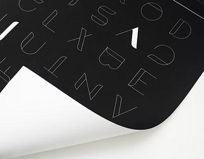BAYANG typeface