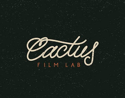 Cactus Film Lab - Branding & Visual Identity