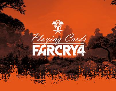 Baralho Far Cry 4 - Playing Cards FC4