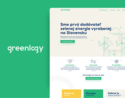 GREENLOGY website