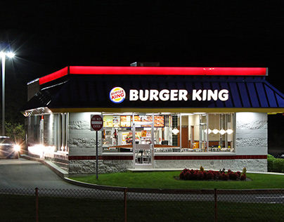 Touchless Burger King in Miami
