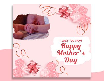 mothers day social media post banner