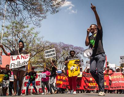 Corruption March