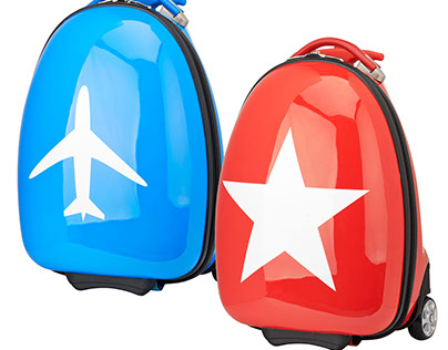Product design suitcases