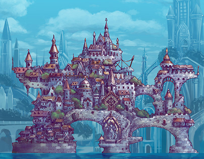 Fantasy Game Background Project