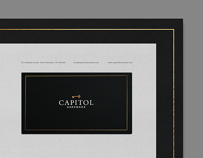Capitol Hardware - Identity Design
