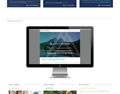 Alberta Innovates Visual Identity and Creative Platform