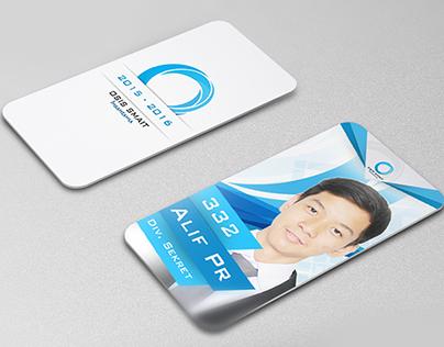 Id Card of Student Organization Insantama SHS 2014-2015