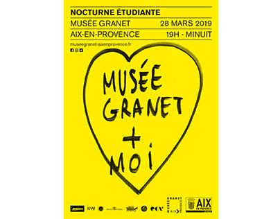 Student Night Museum opening - Musée Granet Aix