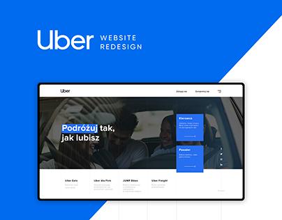 Uber Website Redesign