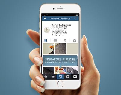 Singapore Airlines Premium Economy Instagram Hunt
