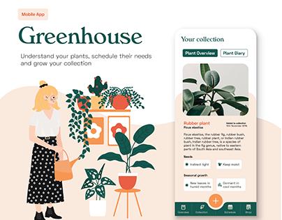 Greenhouse | Plant Management App