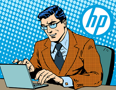 Email designs for HP