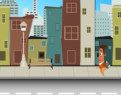 Vehicle Booking Animation