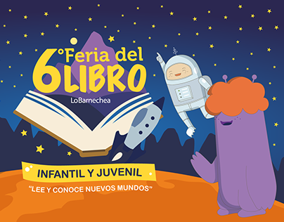 Gráfica para Feria del Libro, Lo Barnechea