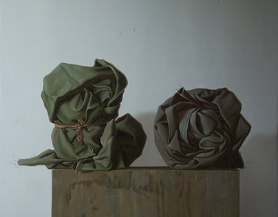 """Still life with two draperies"""