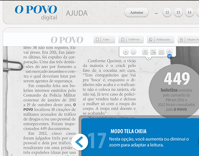 Tutorial Edição Digital do Jornal O POVO