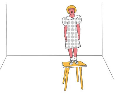 Illustrations for SKVOT MAG