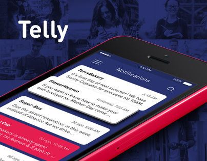 Telly \ Notofication App