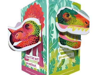 Dinosoiree Event Advertising