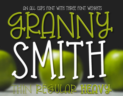 Granny Smith Font