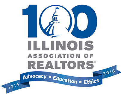 Illinois REALTORS® 100th Anniversary Logo/Branding