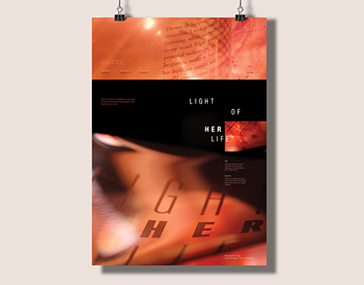 Light of Her Life - Music Poster for Cello Concerto