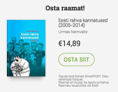 Eesti rahva kannatused landing