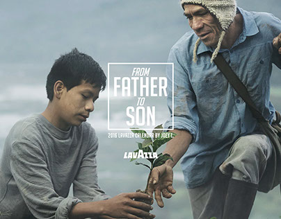2016 Lavazza Calendar - FROM FATHER TO SON