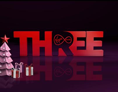 Channel Ident for Virgin Media Three