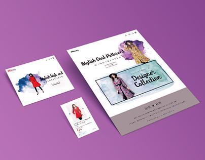Visual design for ecommerce website
