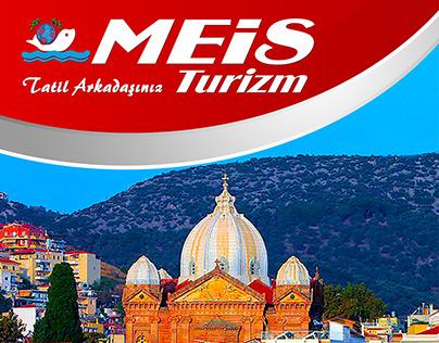 Meis Turizm Midilli Adası Roll-Up