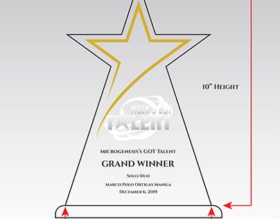 MBS Award Plaques