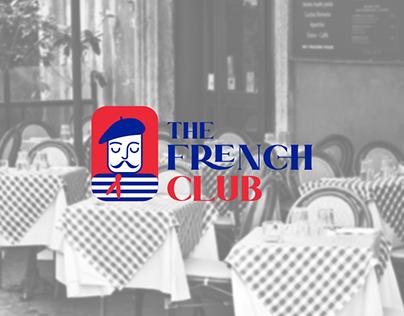 The French Club logo & branding