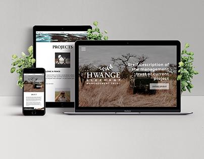 Hwange Elephant Management Trust Branding