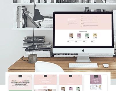 Macro Mixes (eCommerce Website Design & Development)