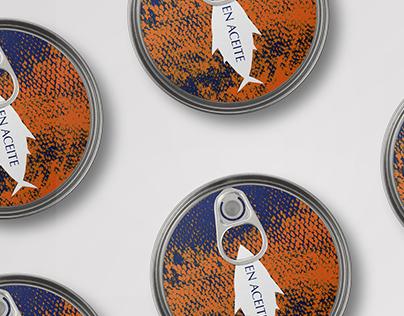 "atún ""don sancho"" (tuna) | packaging redesign"