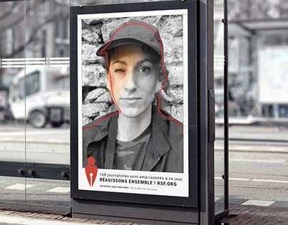 Brand identity - Reporters sans Frontières