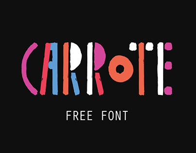 Carrote — Free font