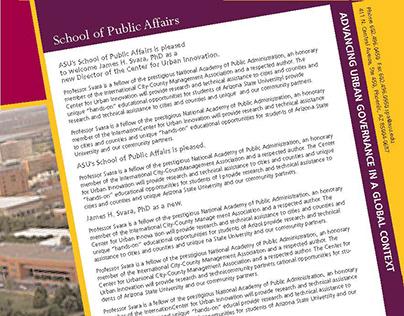 ASU School of Public Affairs
