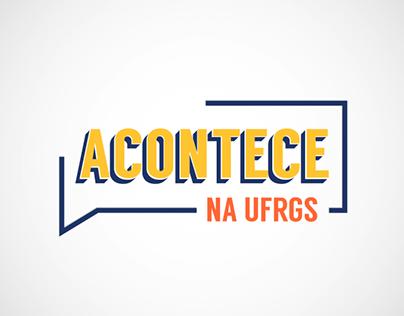 Identidade Visual - Acontece na UFRGS