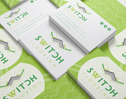 Switch Flooring Logo & Business Cards