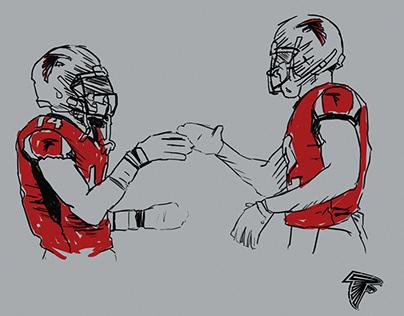 Atlanta Falcons RISE UP Flipbooks 2018-19