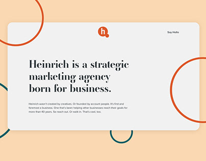 Heinrich Microsite & Emails